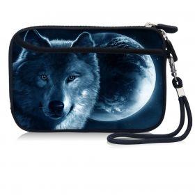 Huado pouzdro na mobil Vlk a měsíc