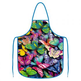 Kuchyňská zástěra - Motýlci