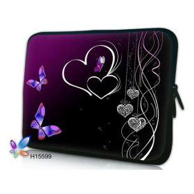 "Pouzdro Huado pro notebook do 12.1"" Dvojité srdce"