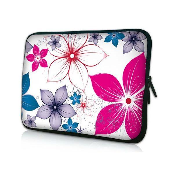 """Pouzdro Huado pro notebook do 12.1"""" Květiny na jaře"""
