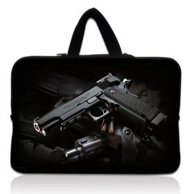 "Taška Huado pro notebook do 10.2"" Revolver 9 mm"