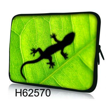 "Pouzdro Huado pro notebook do 10.2"" Zelený Gekon"