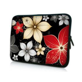 """Huado pouzdro na notebook 10.2"""" Večerní květy"""