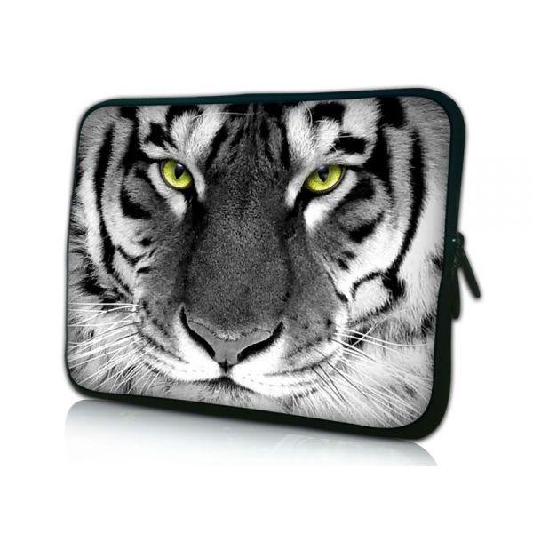 """Pouzdro Huado pro notebook do 12.1"""" Tygr černobílý"""