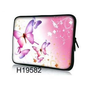 """Pouzdro Huado pro notebook do 13.3"""" Růžový motýlci"""