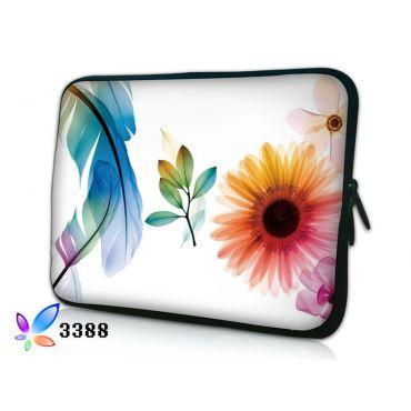 """Pouzdro Huado pro notebook do 12.1"""" Pírko a květiny"""