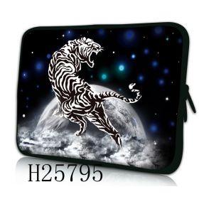 """Pouzdro Huado pro notebook do 12.1"""" Zuřivý tygr"""
