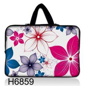 """Taška Huado pro notebook do 12.1"""" Květiny na jaře"""