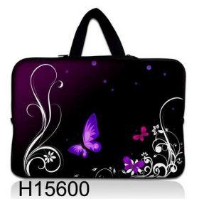 """Taška Huado pro notebook do 12.1"""" Purpuroví motýlci"""