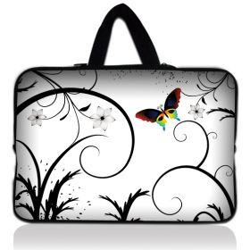 """Taška Huado pro notebook do 12.1"""" Barevný motýl"""