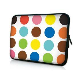 "Pouzdro Huado pro notebook do 14.4"" Polka dots"