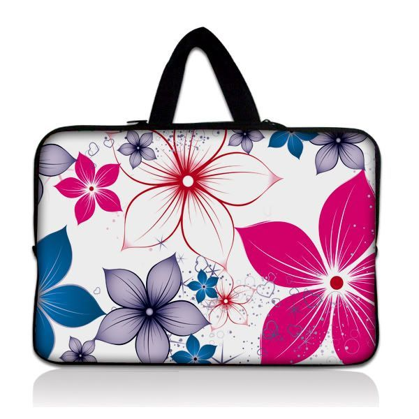 """Taška Huado pro notebook do 13.3"""" Květiny na jaře"""