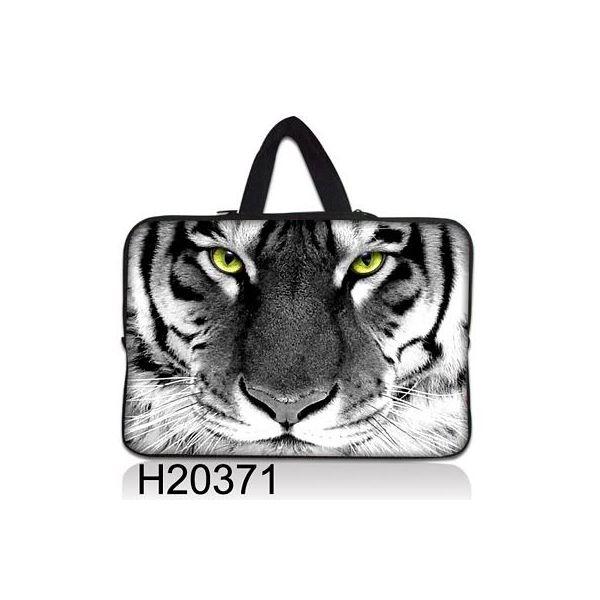 """Taška Huado pro notebook do 13.3"""" Tygr černobílý"""