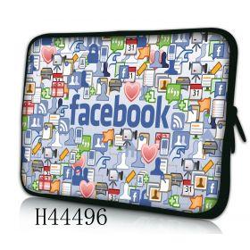 "Huado pouzdro na notebook 13.3"" Social network"