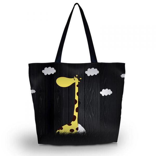 Nákupní a plážová taška Huado - Žirafa
