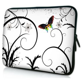 "Pouzdro Huado pro notebook do 14.4"" Barevný motýl"