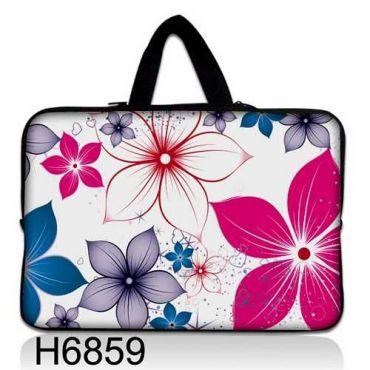 """Taška Huado pro notebook do 14.4"""" Květiny na jaře"""