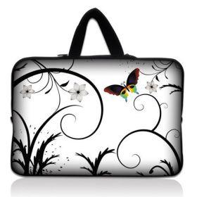 """Taška Huado pro notebook do 14.4"""" Barevný motýl"""