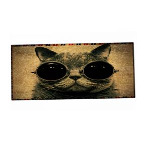XXL podložka pod myš HUADO Kočka s brýlemi