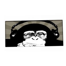 XXL podložka pod myš HUADO DJ šimpanz