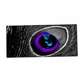 XXL podložka pod myš HUADO Fialové oko