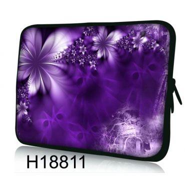 """Pouzdro Huado pro notebook do 15.6"""" Fialové květy"""
