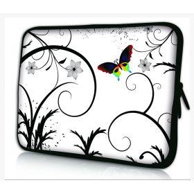"Pouzdro Huado pro notebook do 15.6"" Barevný motýl"