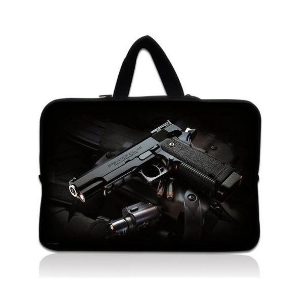 "Taška Huado pro notebook do 15.6"" Revolver 9 mm"