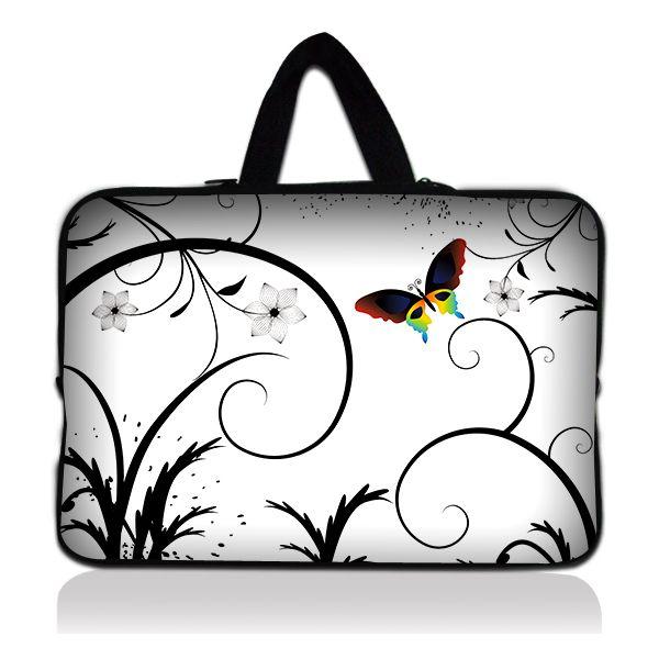 """Taška Huado pro notebook do 15.6"""" Barevný motýl"""