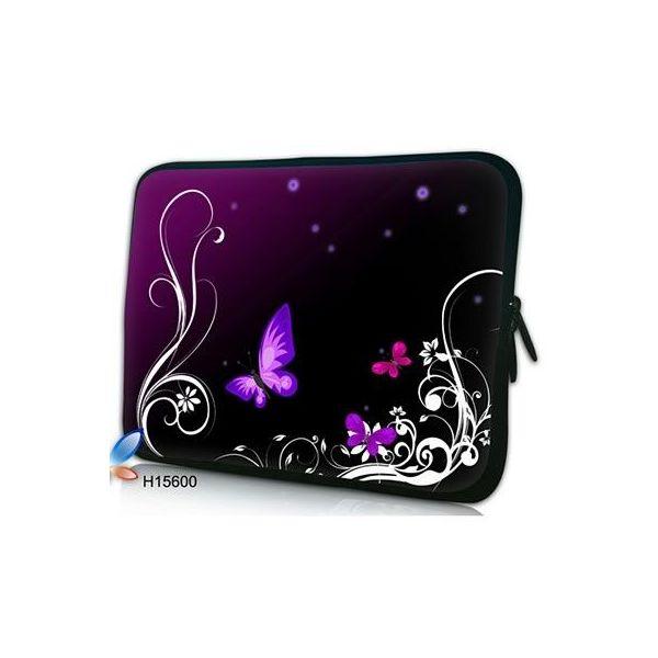 """Pouzdro Huado pro notebook do 17.4"""" Purpuroví motýlci"""