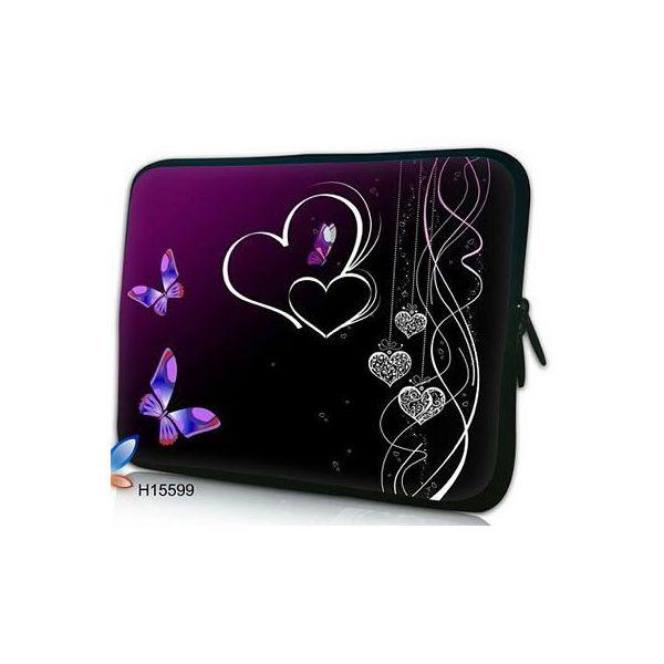 "Pouzdro Huado pro notebook do 17.4"" Dvojité srdce"
