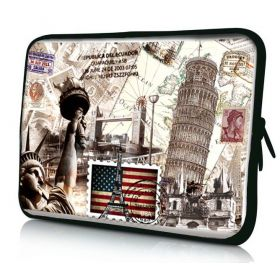 "Pouzdro Huado pro notebook do 17.4"" Travel King"