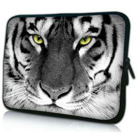 """Pouzdro Huado pro notebook do 17.4"""" Tygr černobílý"""