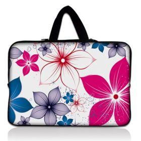 """Taška Huado pro notebook do 17.4"""" Květiny na jaře"""