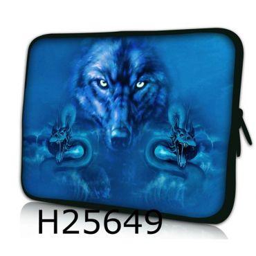 """Pouzdro Huado pro notebook do 17.4"""" Smečka vlků"""
