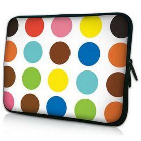"Pouzdro Huado pro notebook do 17.4"" Polka dots"