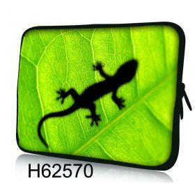 "Pouzdro Huado pro notebook do 17.4"" Zelený Gekon"