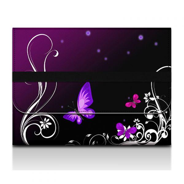 Desky na dokumenty a tablet - Purpuroví motýlci