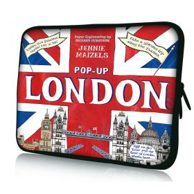"Huado pouzdro na notebook 17.4"" Britain Trip"