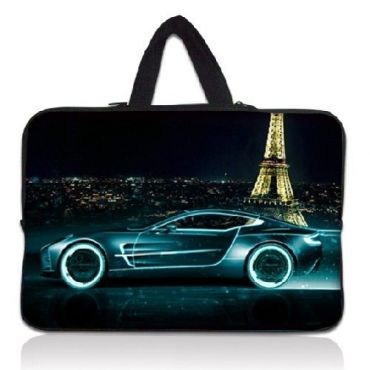 """Taška Huado pro notebook do 17.4"""" Noční Paríž"""