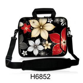 """Taška přes rameno Huado do 15.6"""" Večerní květy"""