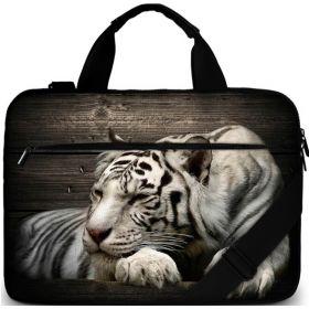 """Brašna přes rameno Huado do 15.6"""" Tygr sibiřský"""