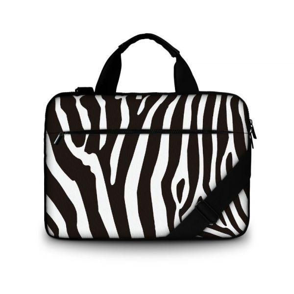 """Brašna přes rameno Huado do 15.6"""" Zebra"""