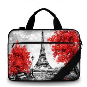"""Huado brašna přes rameno 15.6"""" Eiffelova Věž v Paříži"""