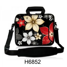 """Taška přes rameno Huado do 17.4"""" Večerní květy"""