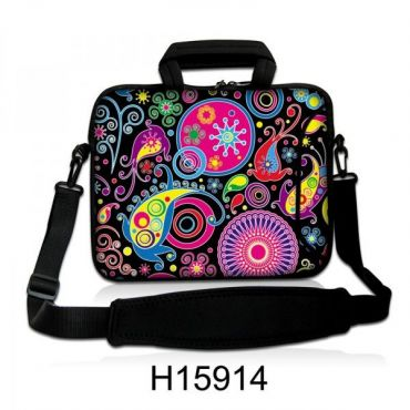 """Taška přes rameno Huado do 17.4"""" Picasso style"""