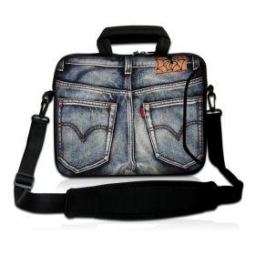 "Taška přes rameno Huado do 15.6"" Jeans"