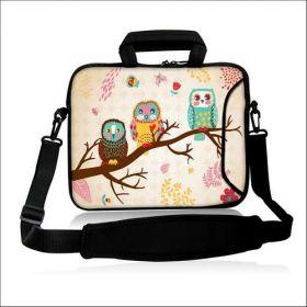 """Huado taška přes rameno 15.6"""" Sovy na stromě"""