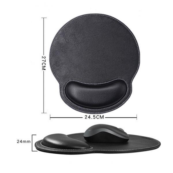 Huado ergonomická podložka pod myš Luxury Černá