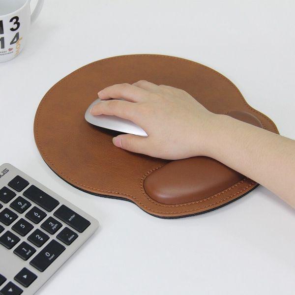 Huado ergonomická podložka pod myš Luxury Hnědá